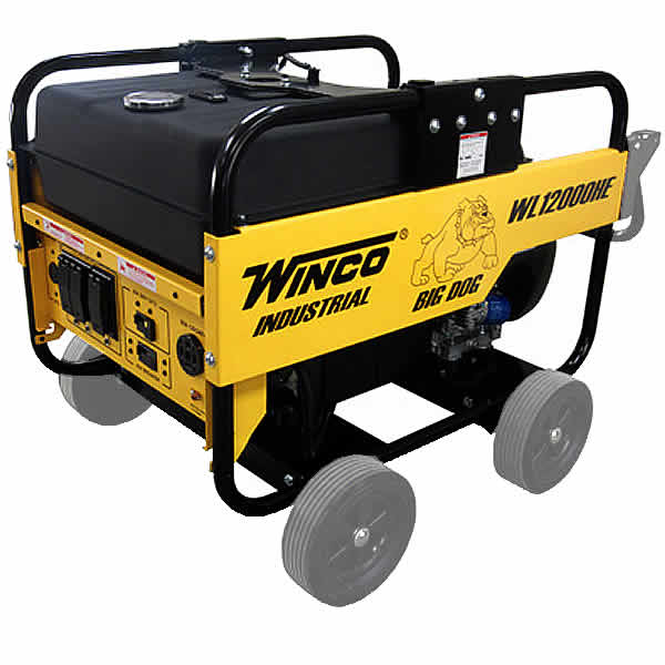 Home / Winco Portable Generator - WL12000HE, 12000 Watt, 20 HP Honda