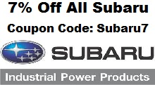 Subaru7 Generator Coupon Code