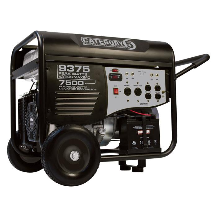 Champion Portable Generator 9 4 Kw Remote Start Cord Carb 41535 Absolute Generators