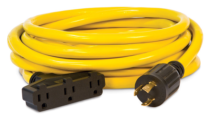Home / Champion Generator Power Cord - 30 Amp, 25 Foot, L5-30P, 5-15R