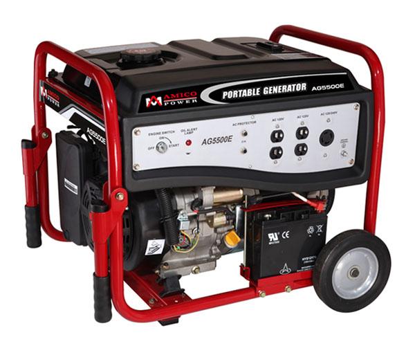 Generator Wattage Meter : Amico portable generator ag e watt carb