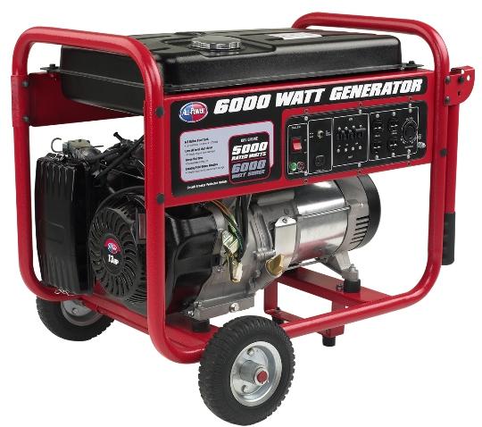 All Power America Portable Generator Apgg6000 6000 Watt