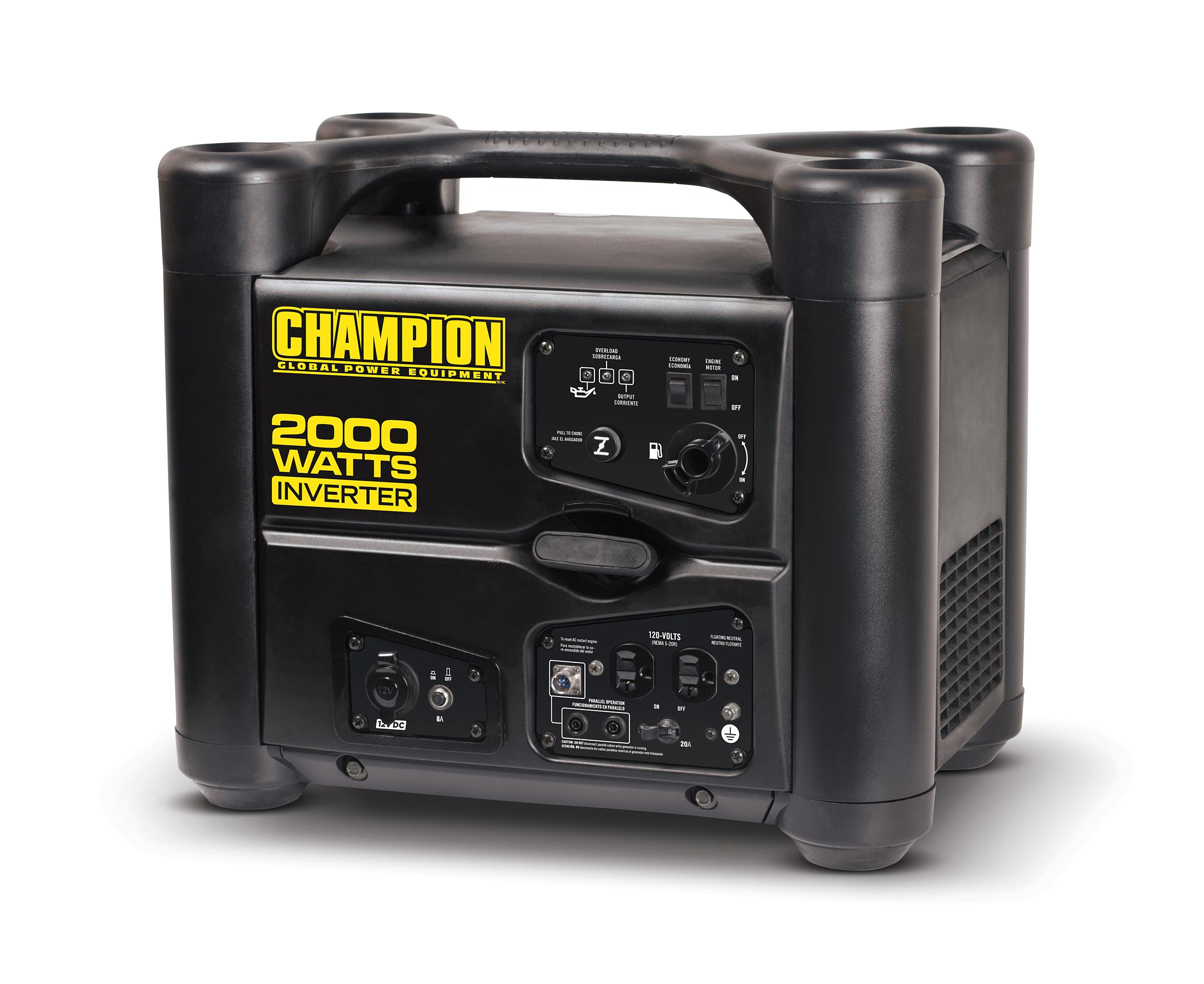 Champion Inverter Generator 2000 Watt Idle Control 53 dB CARB