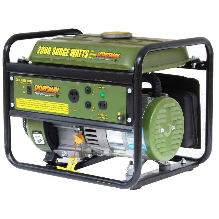 Sportsman Portable Generator - GEN154, 2000 Watt, Gas, 2.4 HP   Sportsman Generator Wiring Diagram      Absolute Generators