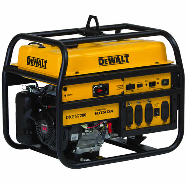 dewalt portable generator dxgn7200 7200 watt idle honda rh absolutegenerators com  dewalt dg6000 generator wiring diagram