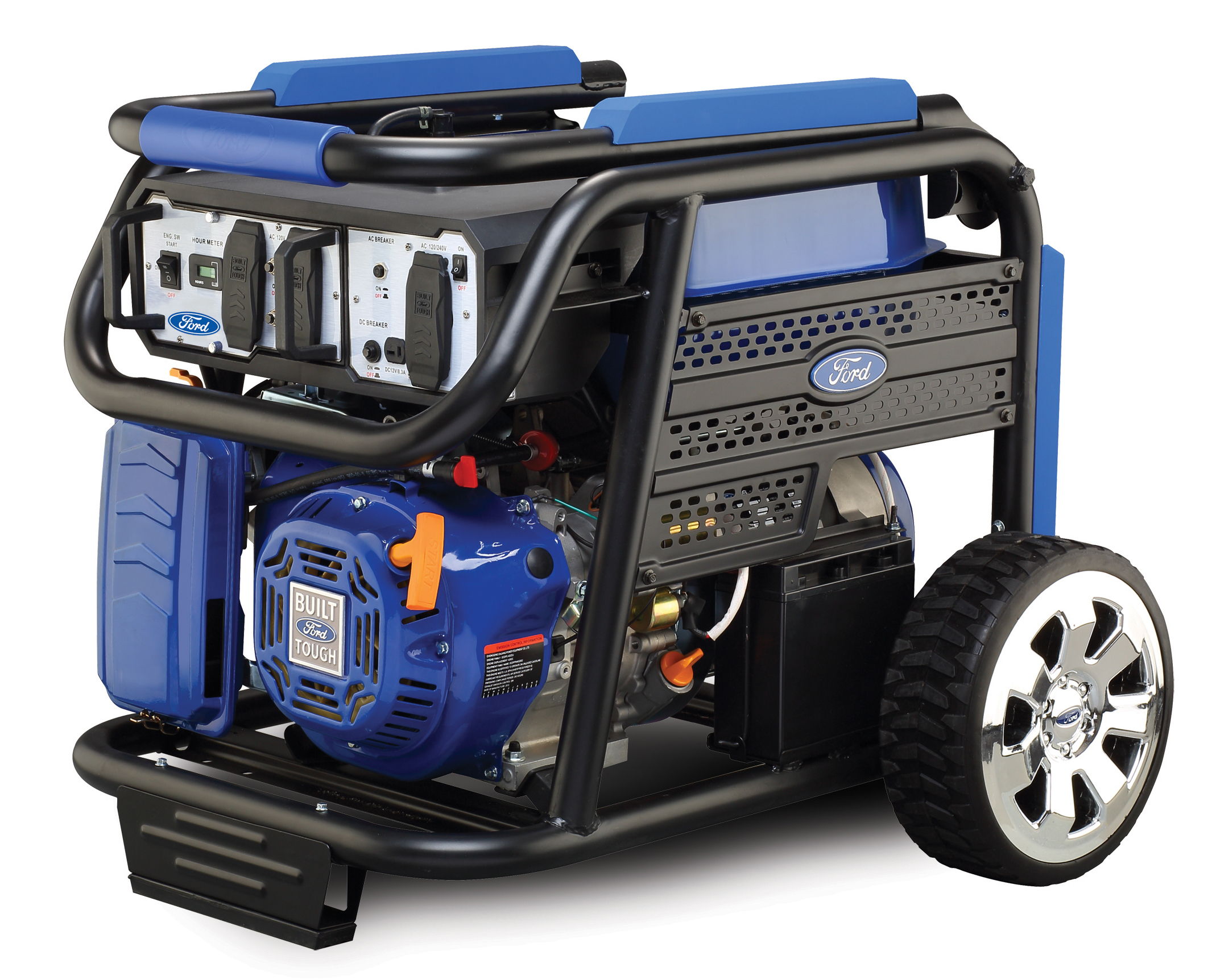 Ford Portable Gas Generator 6250 Watt Electric Start CARB
