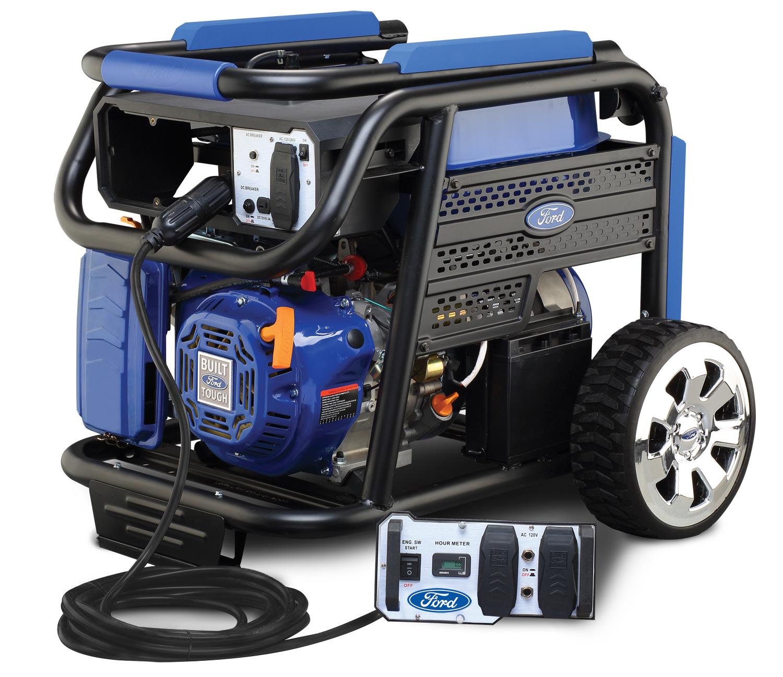 Ford Portable Gas Generator 7750 Watt Electric Start CARB