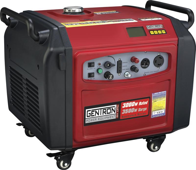 3000 Watt Honda Generator Gentron Inverter Generator - 3500 Watt, Electric Start, 58 dB