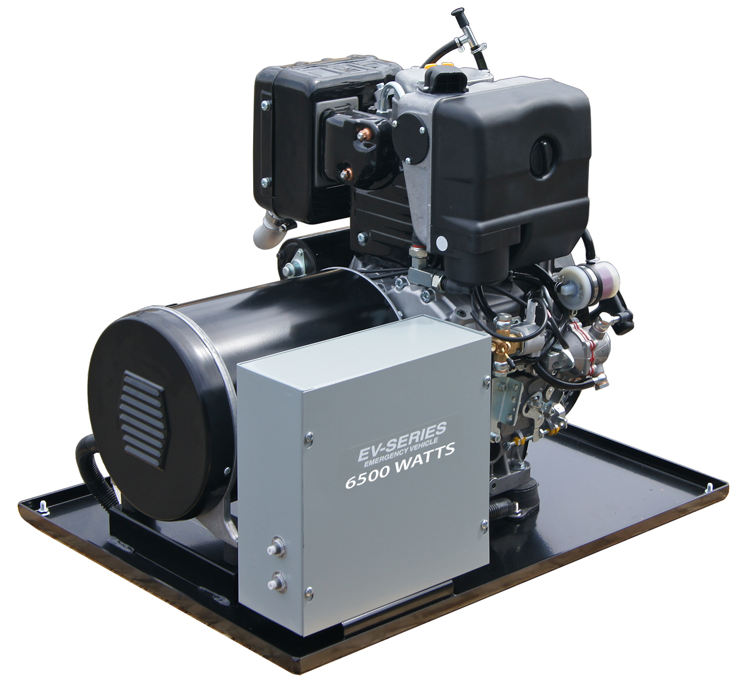 Gillette Vehicle Mount Diesel Generator EVTD 65EK 6 5 kW 10 HP