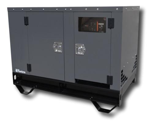 Industrial Diesel Generator - 15 kW Standby, 14 4 kW Prime