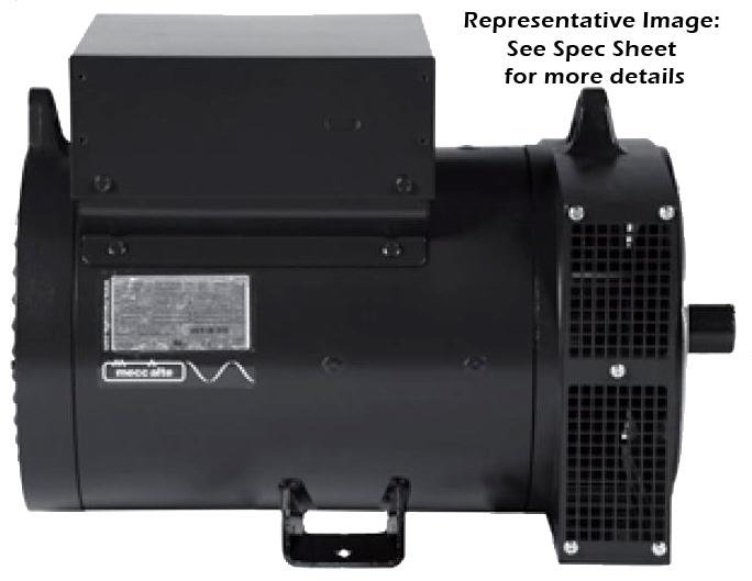 Mecc Alte Two-Bearing Belt-Drive Generator - 100005, Model