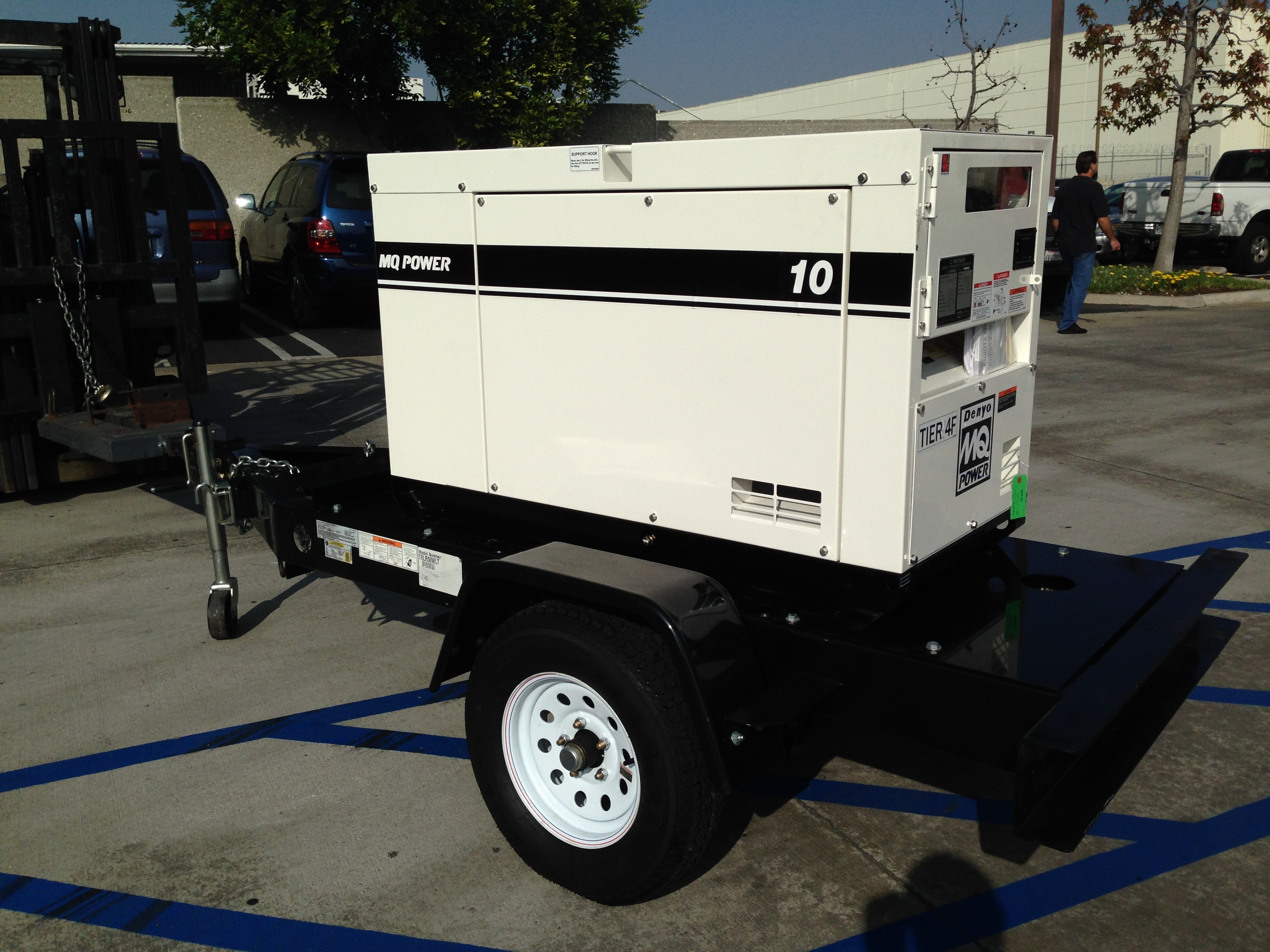 Multiquip Silent Diesel Generator 11 kVA 11 kW 120 240V
