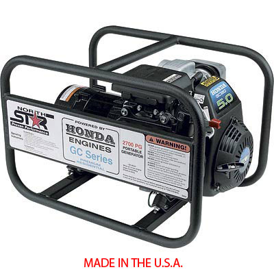 Northstar portable generator 165912 2700 watts 46 hp honda asfbconference2016 Gallery