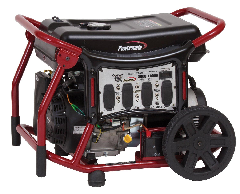 Powermate portable generator pm0148000 10 kw electric - Generador de luz ...