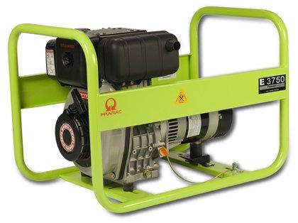 Pramac Portable Diesel Generator - E3750, 3750 Watt, Yanmar