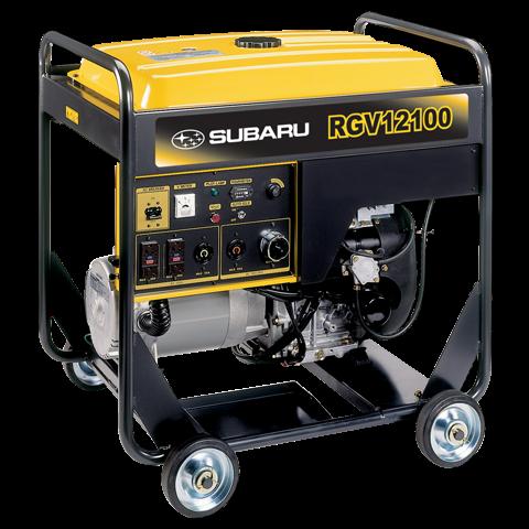 Subaru Portable Generator Rgv12100 12000 Watt Idle Control