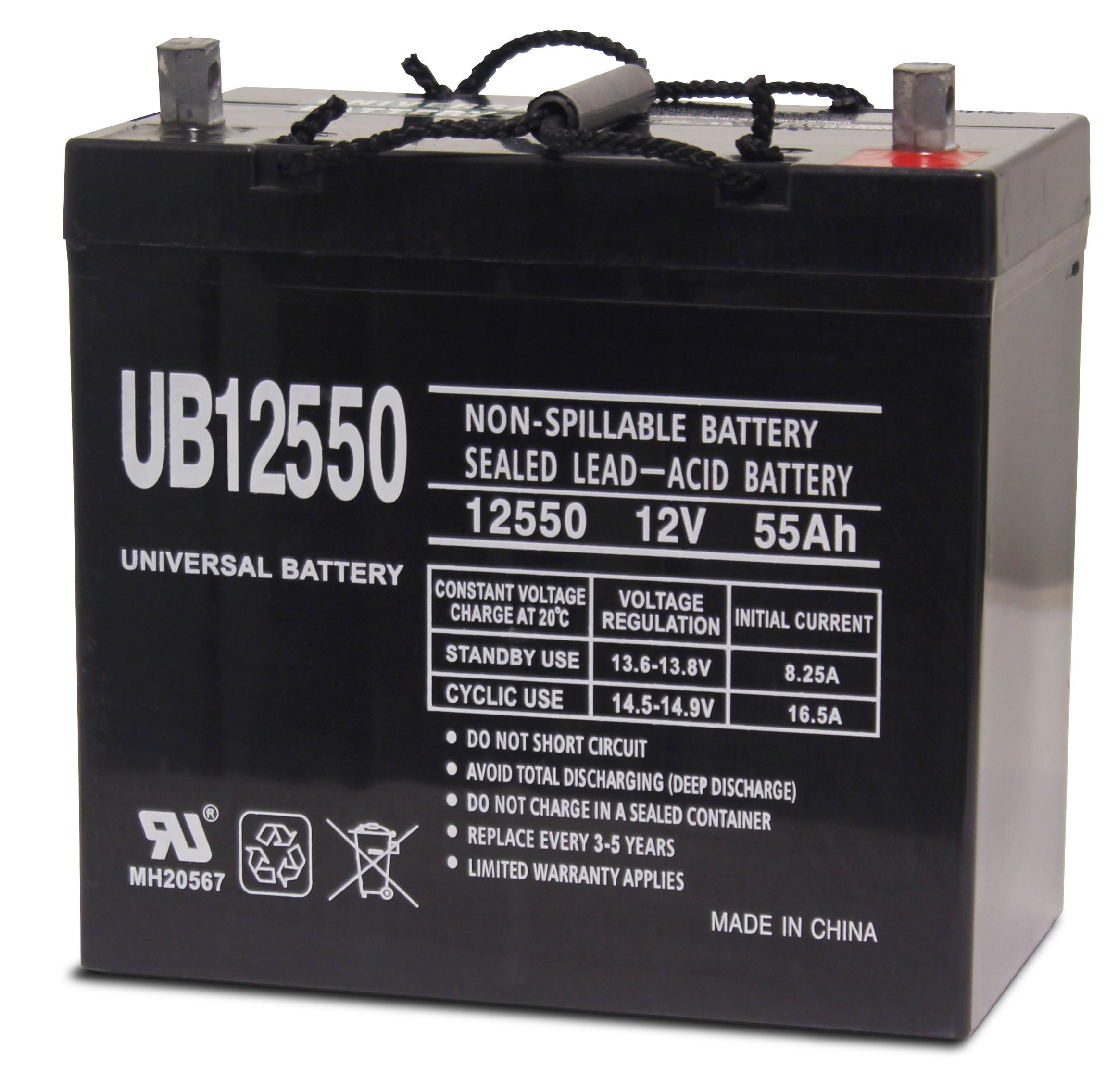 12 Volt Battery : Upg generator battery volt ub  absolute