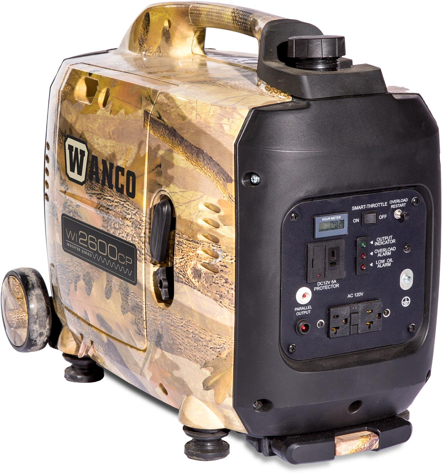 Wanco Inverter Generator - WI2600CP | Absolute Generators