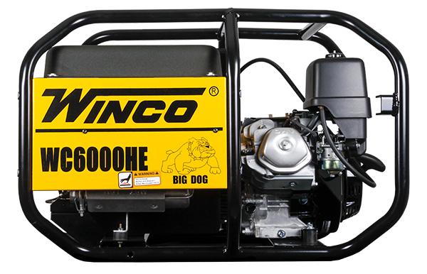 Winco Portable sel Generator- WC6000HE | Absolute Generators on