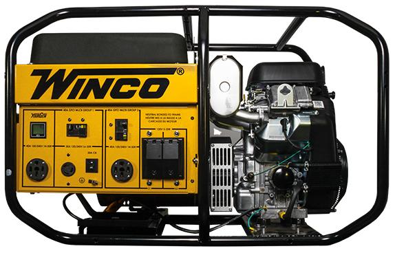 winco portable diesel generator