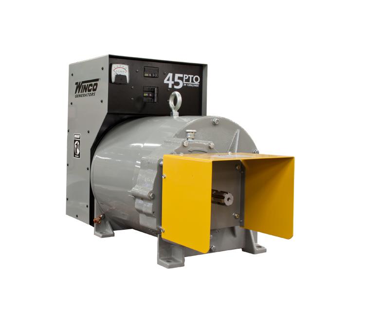Generator - 45 kW, 3-Phase, 1000 RPM - PTO Generators - Generator Type