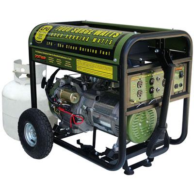 portable propane generator